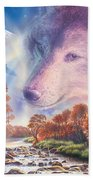Calling To The Pack Beach Towel