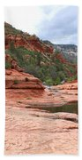 Calm Day At Slide Rock Beach Towel