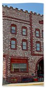 Calumet Hotel-1887 In Pipestone-minnesota  Beach Towel