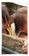 Cambodian Children 03 Beach Towel