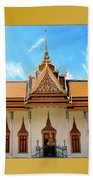 Cambodian Temples 2 Beach Towel