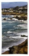 Cambria Coastline Beach Towel
