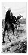 Camel Rider Beach Towel