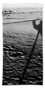 Camel Shadow Beach Towel