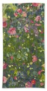 Camellia In Flower Beach Towel