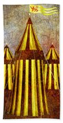 Camelot Restrained Beach Towel