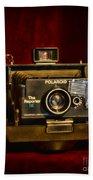 Camera - Polaroid  The Reporter Se Beach Towel