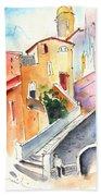 Camogli In Italy 01 Beach Towel