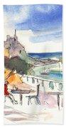 Camogli In Italy 08 Beach Towel