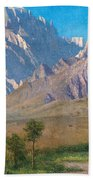 Camp Independence Colorado Beach Towel