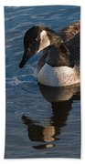 Canada Goose Winter Swim Beach Towel