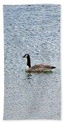 Canadian Goose 2 Beach Towel