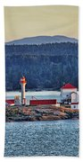 Canadian Lighthouses Sc3415-13 Beach Towel