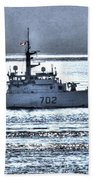 Canadian Navy Nanaimo M M702 Beach Towel