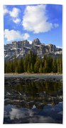 Canadian Rockies 8 Beach Towel