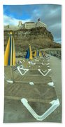 Canarian Loungers  Beach Towel
