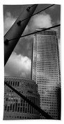 Canary Wharf London Beach Towel