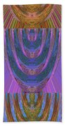 Candle Stick Art Magic Graphic Patterns Navinjoshi Signature Style Art      Beach Towel