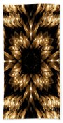 Candles Abstract 5 Beach Towel