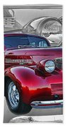 Candy Apple Red Beach Towel