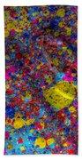 Candy Colored Blast Beach Towel