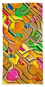 Candy - Lolly Pop Abstract  Beach Towel