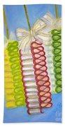 Candy Ribbon  Beach Towel