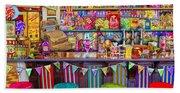 Candy Shop Beach Towel