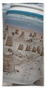 Canned Castles Beach Towel