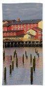 Cannery Pier Hotel Beach Towel