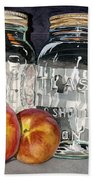Canning Time Beach Towel