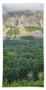 Cannon Cliff - Franconia Notch State Park New Hampshire Usa  Beach Sheet