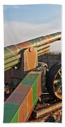 Cannon In Fortress Beach Towel
