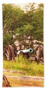 Cannon On Culps Hill Beach Towel