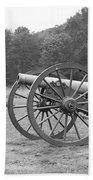 Cannons On Manassas Battlefield Beach Towel