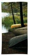 Canoe Trio Beach Sheet