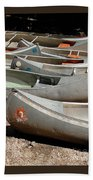Canoes 143 Beach Sheet