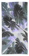 Daytime Jungle Sky By Jammer Beach Towel