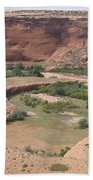 Canyon De Chelly View Beach Towel