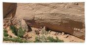 Canyon De Chelly Ruins Beach Towel