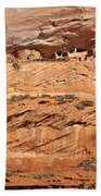 Canyon Dechelly Pueblo Ruins Beach Towel