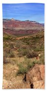 Bright Angel Trail, The Grand Canyon  Beach Towel