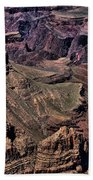 Canyon Walls Beach Towel