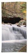 Canyon Waterfall-artistic Beach Towel