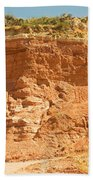 Canyonlands In West Texas Beach Towel
