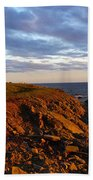 Cape Anguille Lighthouse Beach Towel