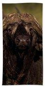 Cape Buffalo   #6883 Beach Towel