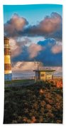 Cape Disappointment Light House Beach Towel