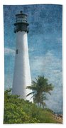 Cape Florida Lighthouse 2 Beach Towel