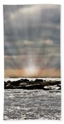 Cape May After The Storm Beach Towel